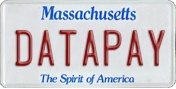 Datapay MA License Plate
